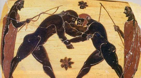 Histoire de la lutte grecque