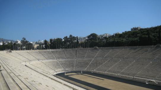 Les stades de la Grèce Antique
