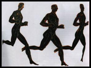 Les athlètes grecs